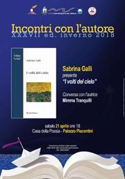 Incontri con l'autore | Sabrina Galli