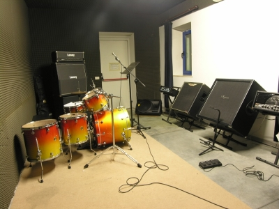 La nuova sala prove