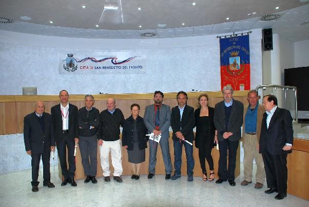 Foto di gruppo dei Premiati edizione 2010
