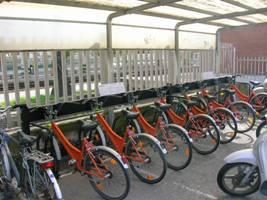 Le bici presenti alla Stazione di San Benedetto del Tronto
