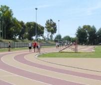 Un'immagine della pista di atletica