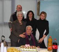 Al Centro Primavera festa per i 100 anni della sig.ra Corsi