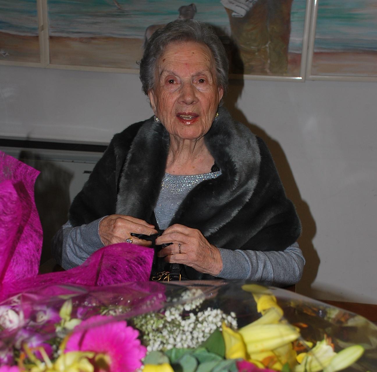 Lucia Carmina Forte ha soffiato su 100 candeline