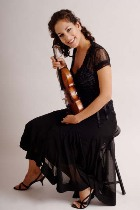 La violinista Andréa Tyniec