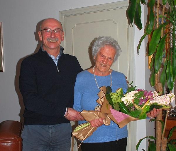 Cento anni in ottima forma per Maria Alesiani