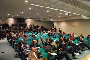 La platea del Consiglio comunale del 23 dicembre 2009