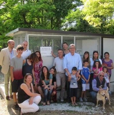 Canile comunale, inaugurato un box di isolamento per cani in degenza
