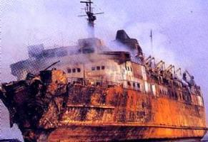 Il traghetto Moby Prince