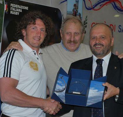 I campioni del rugby italiano in città