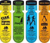 Informazioni per i giovani in quattro segnalibri
