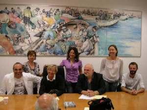 foto di gruppo conferenza 'Stagione teatrale'