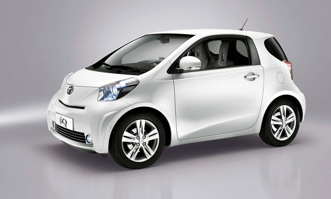 Il primo premio della Lotteria, la Toyota IQ