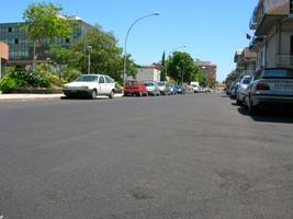 Lunedì 3 dicembre nuovo asfalto in Via Manara