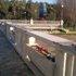 Riparata la balaustra danneggiata del ponte sull'Albula