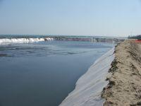 Cassa di colmata al molo nord: proseguono i lavori