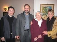 La Signora Pennesi con il Sindaco Gaspari e l'Assessore Emili