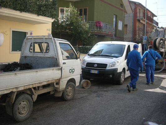 Fogne del centro città, l'11 gennaio si consegna il cantiere di via Roma
