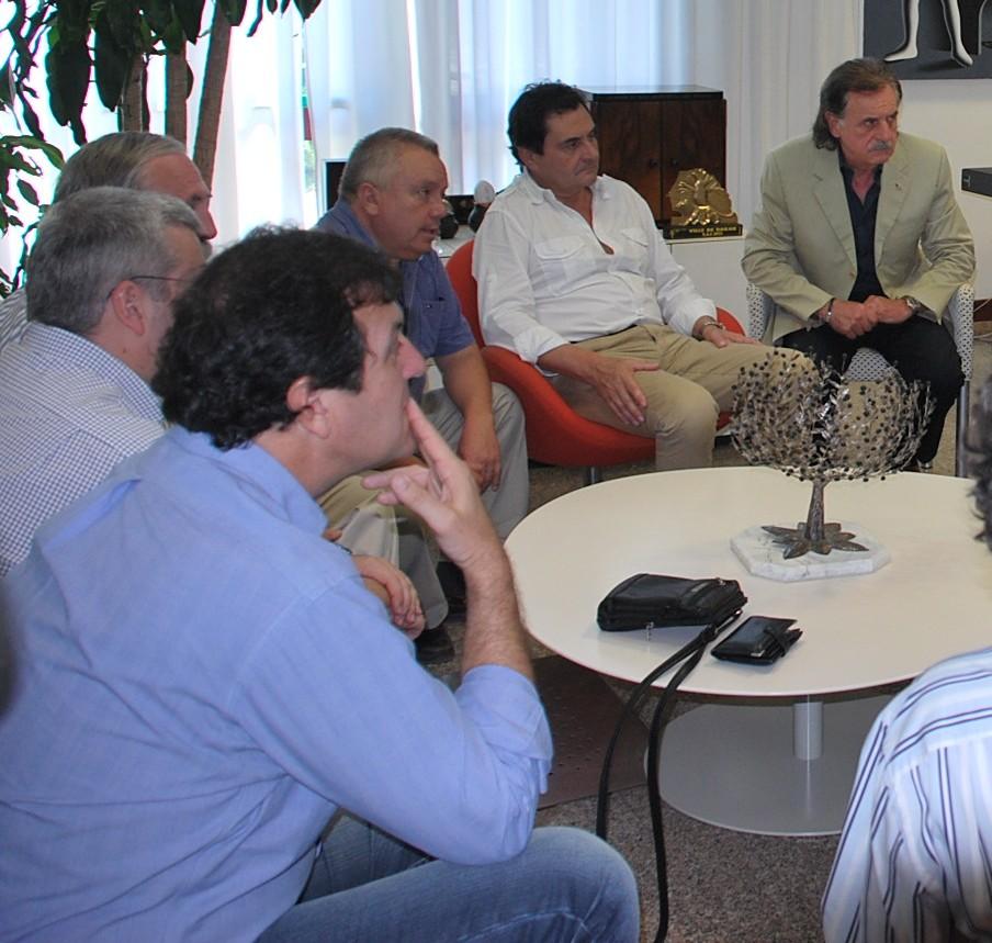 Delegazione argentina in visita a San Benedetto
