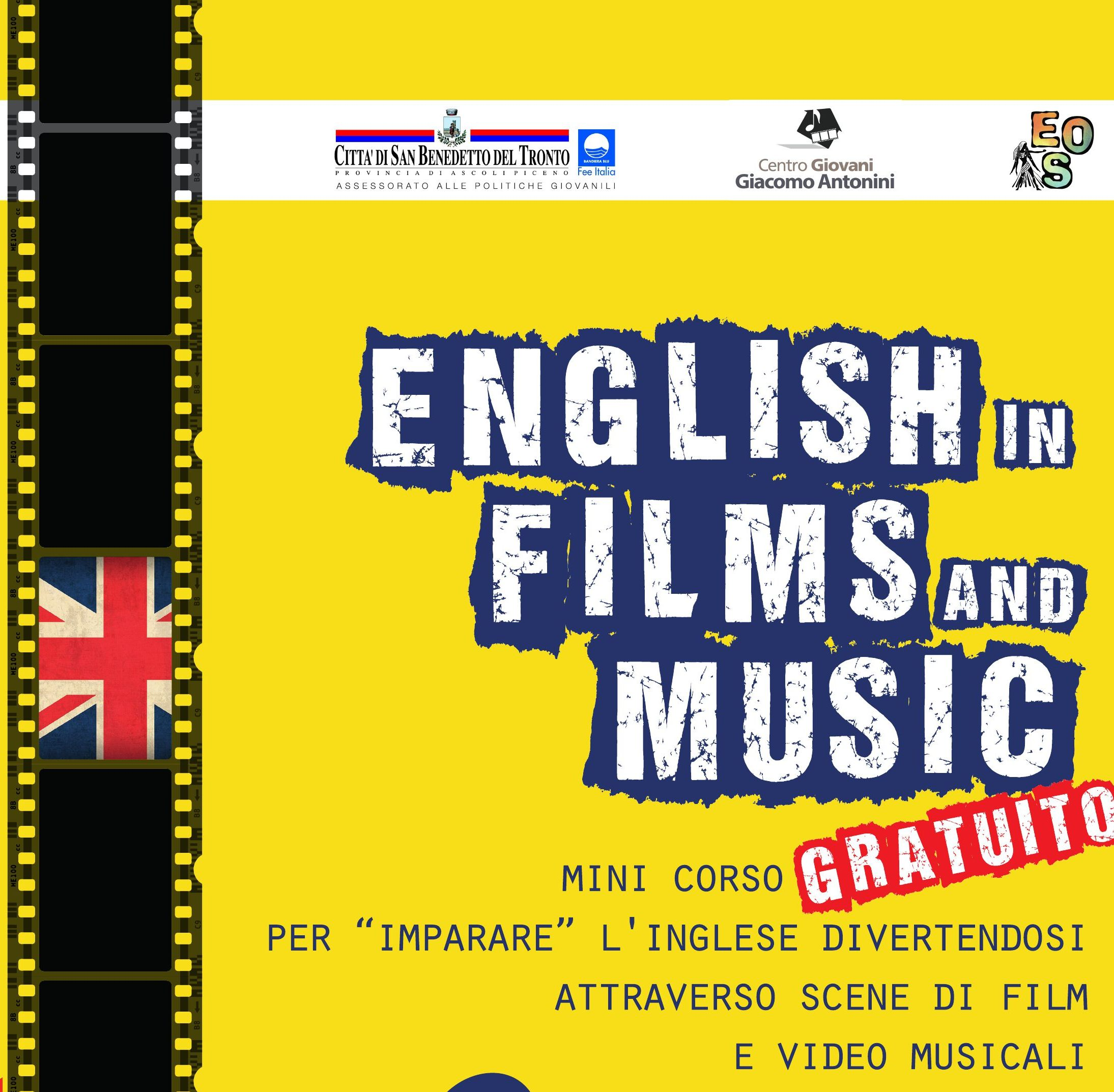 Al Centro Giovani si impara l'inglese attraverso film e musica