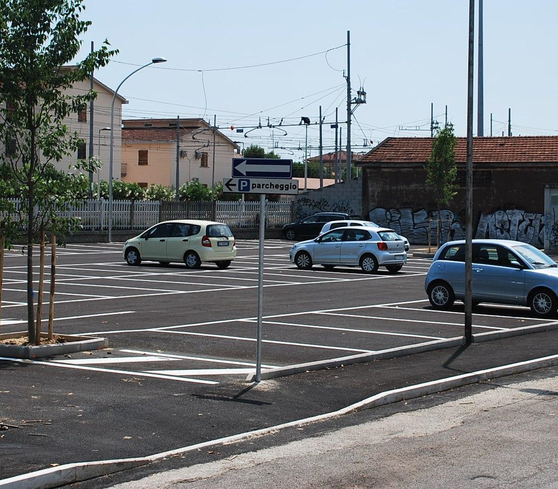 Aperto il nuovo parcheggio nel piazzale ex Start