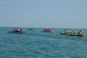Coastal Rowing a San Benedetto, un momento della gara