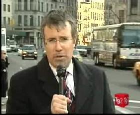 Il corrispondente RAI dagli Stati Uniti, Gerardo Greco