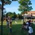 """Intitolato il """"Parco Paola"""" in via Colleoni. Il sindaco Gaspari: «Questo giardino è un punto di riferimento per la vita del quartiere»"""