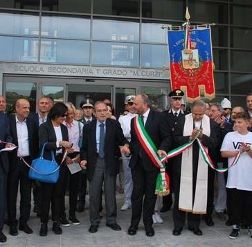 """Inaugurata la nuova scuola """"Mario Curzi"""""""
