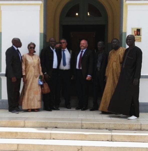 San Benedetto rinnova l'amicizia con il Senegal a Dakar