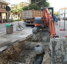 Nuovo intervento anti allagamenti in viale De Gasperi