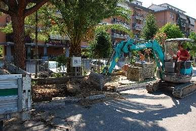 Fogne, partono i lavori in via Val Tiberina