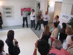 Il Sindaco Gaspari presenta la mostra