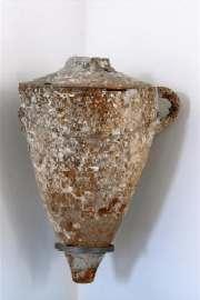 Un'anfora che sarà esposta nel Museo