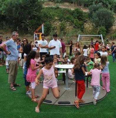 Inaugurato il parco di zona Cerboni