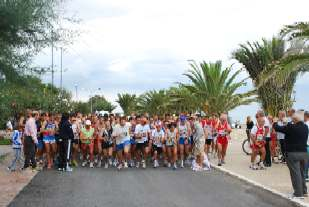 "Partenza della ""Maratonina del Santo"""