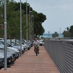 Aperta la pista ciclopedonale di via Moretti