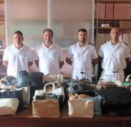 Polizia Municipale in spiaggia, sequestrate 73 borse