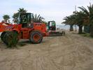 Completata la prima fase della pulizia della spiaggia