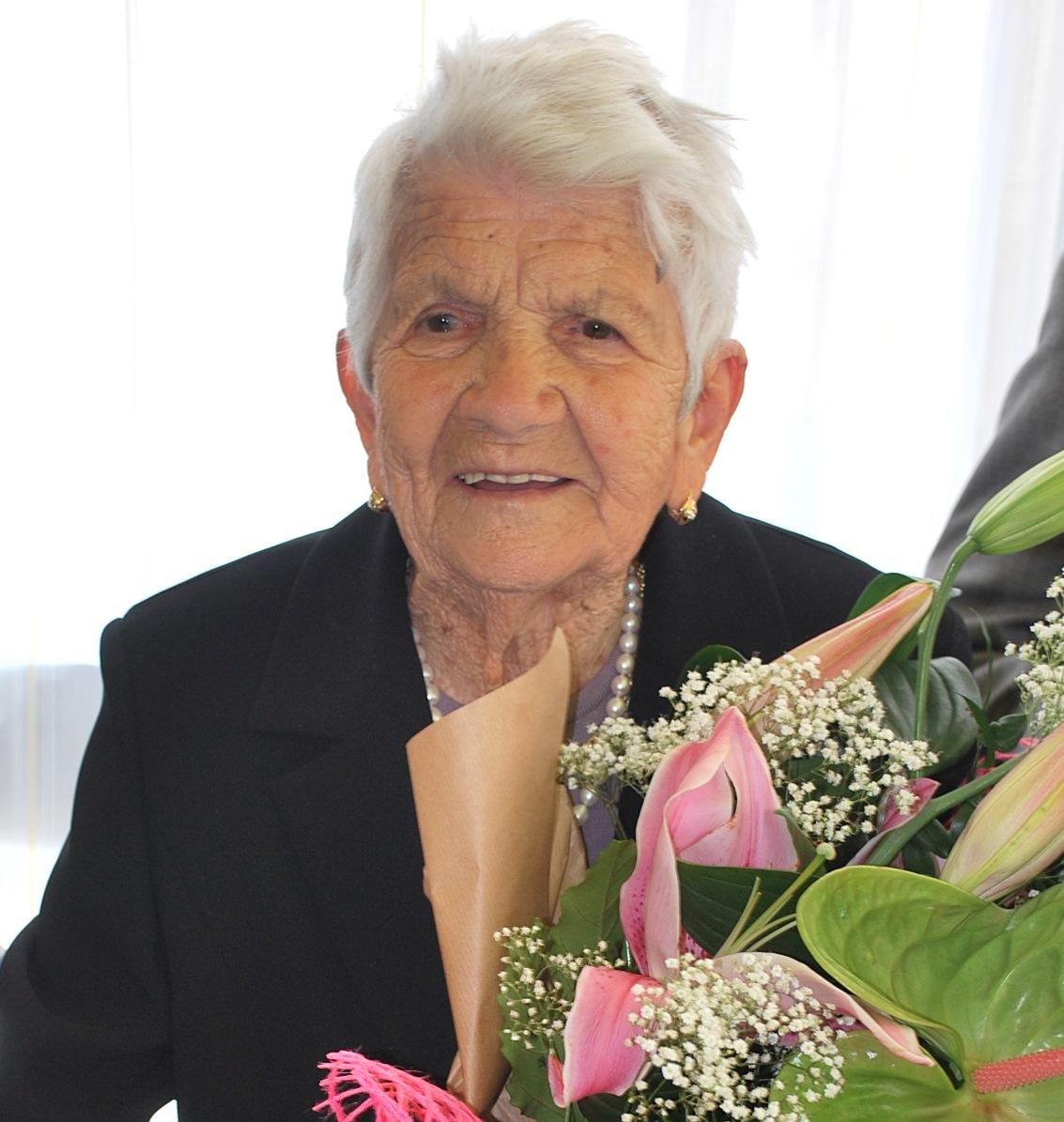 Auguri a Quintilia Zeppilli per i suoi 100 anni