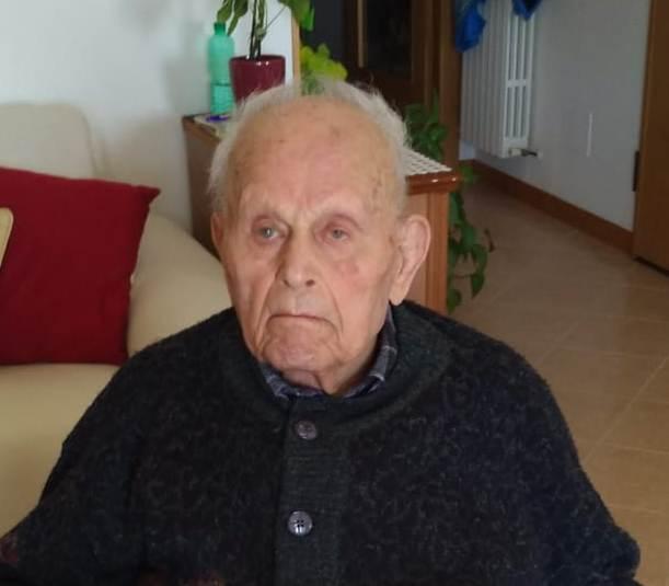 Auguri a Pierino Remia che ha compiuto 100 anni