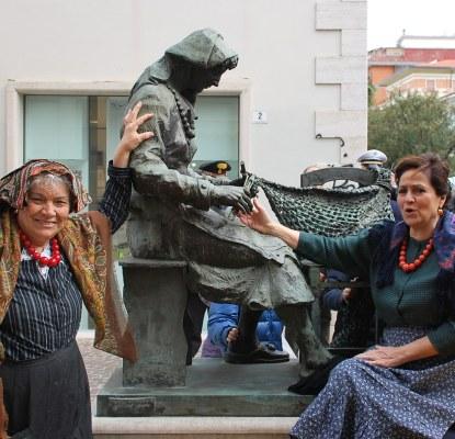 Celebrato S. Biagio: ex funai, canapini e retare fanno rivivere la storia della marineria