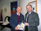 Il rettore della Unicam con il sindaco Gaspari