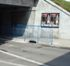 Ringhiere a protezione dei pedoni nel tunnel di via Monfalcone
