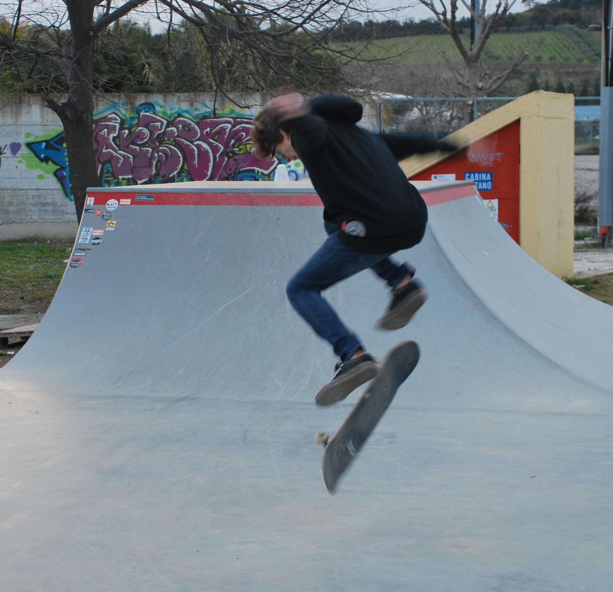 Skate park, s'installa la recinzione