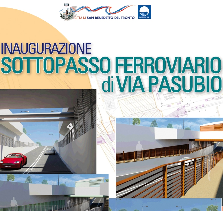 Apre il sottopassaggio di via Pasubio