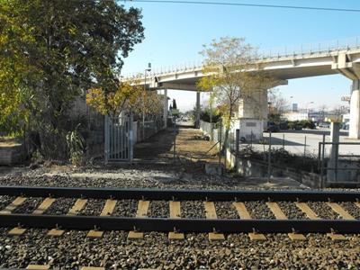 Elettrificazione della ferrovia, chiusura  per lavori