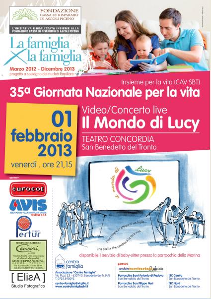 """Video/Concerto Live """"Il Mondo di Lucy"""""""