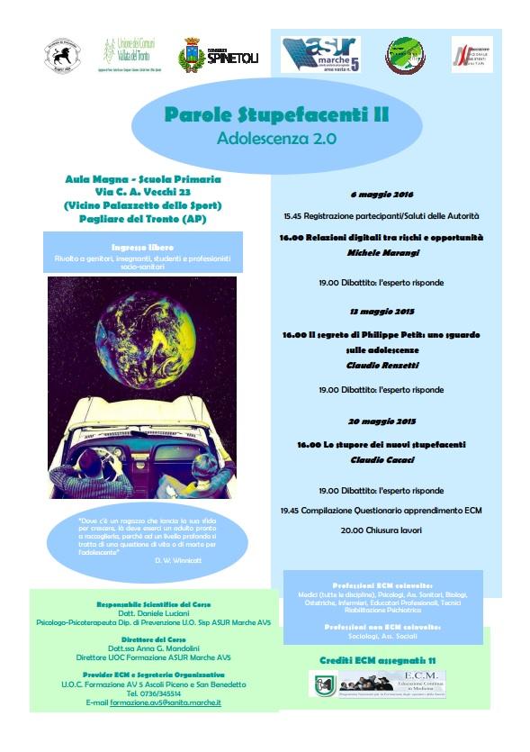 Parole Stupefacenti II - Adolescenza 2.0