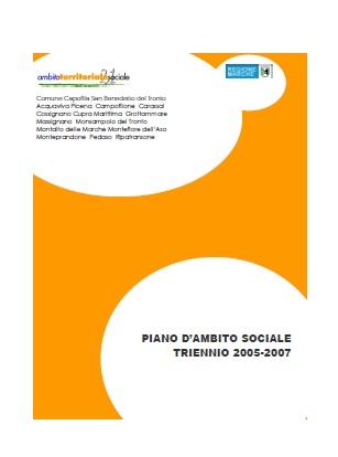 Piano d'Ambito Sociale 2005 - 2007