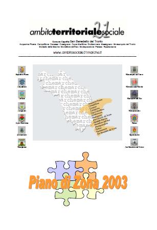 Piano di Zona 2003